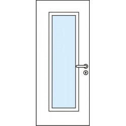 Остъклена врата - Модел 6