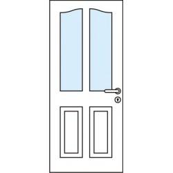 Остъклена врата - Аспендос